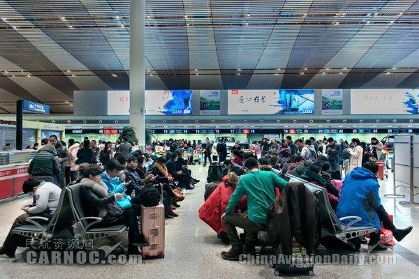 常州国际机场春运40天运送旅客27.6万人次