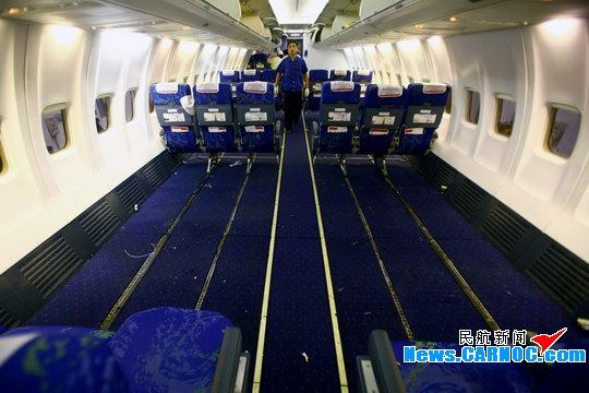 深航连夜改装波音737 保障灾区伤员外运治疗