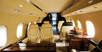 私人飞机内饰图片_世界最大私人飞机图片