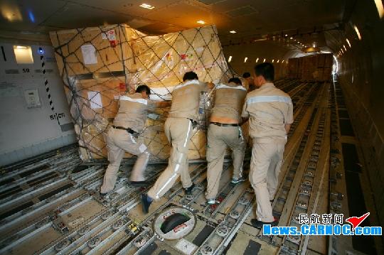 青岛机场成功保障长城航空洲际直航货运包机