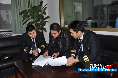 东航山东青岛飞行部完成2010年机长单飞工作