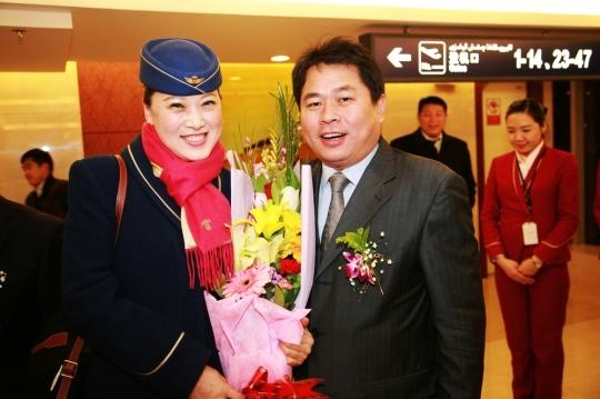图片 南航新疆运输安全飞行56年 再刷新国内纪