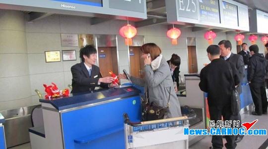 青岛机场春运开门红 旅客吞吐量同比增7.2%