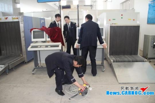 图片 喀什机场安检站积极开展换季工作 迎接挑