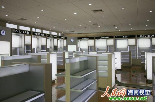 海口美兰机场免税店已装修完毕 或近期开业