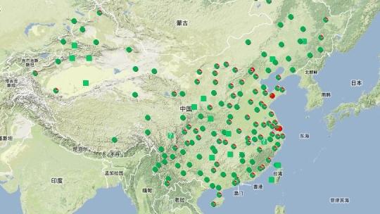 上海市区域分布图