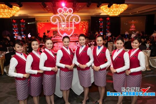广州空姐的生活照