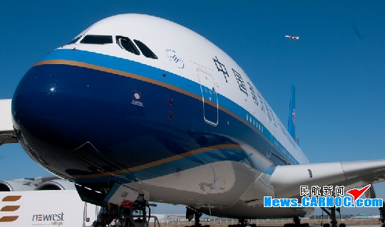 中国 南航/图1:北京时间2011年10月14日下午17时,空中客车公司即将在...