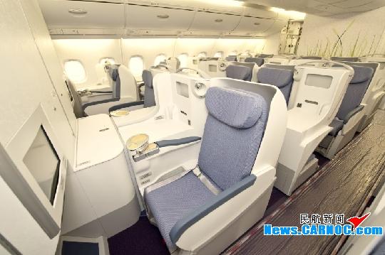 图片 南航A380头等舱:舒适 典雅 便利
