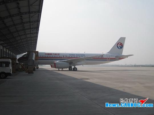 空客天津总装线向东航交付一架空客A320飞机