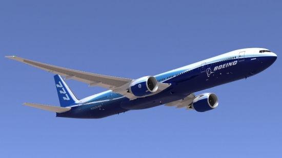 华航将购6架波音777-300ER飞机