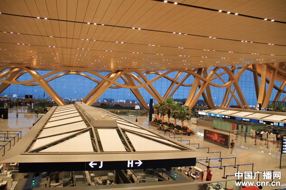 高清组图:昆明<em>长水国际机场</em>28日正式运营
