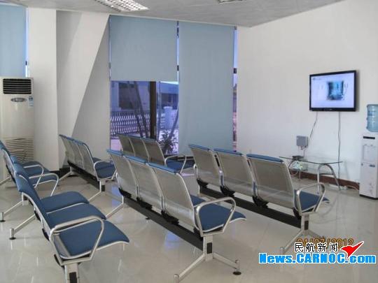 九洲机场候机室完成扩建装修