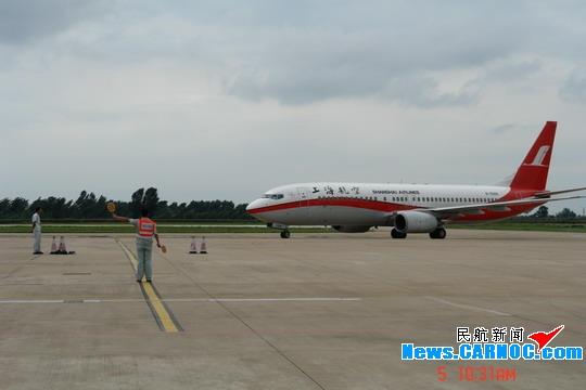 图片 秦皇岛机场恢复正常 后续检修工作仍在继续_民航