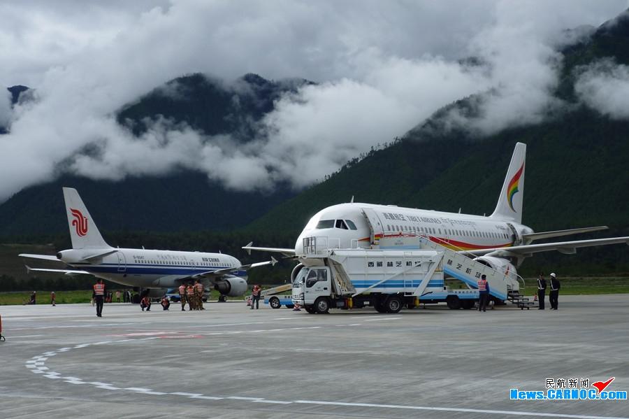 【组图】美丽的西藏林芝机场