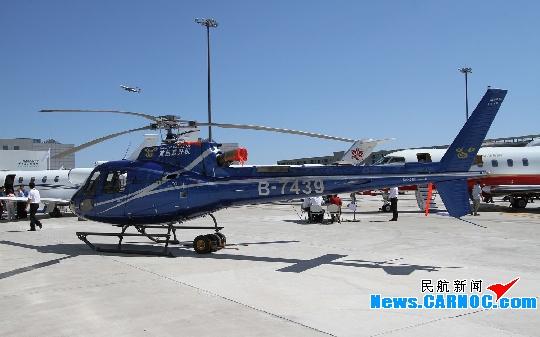 首航直升机参展2012北京国际商务航空展览会