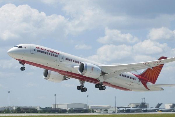 印度航空接收其首架波音787客机 全球第五家