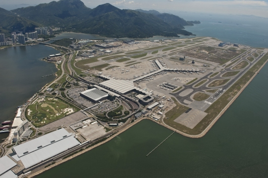 香港机场11月货运量按年增9.3% 创2年来新高