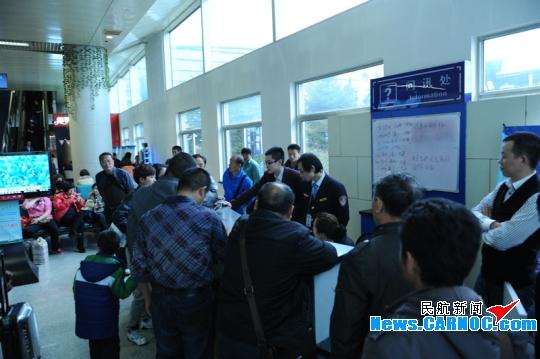 青岛机场保障大面积航班备降经历极限大考