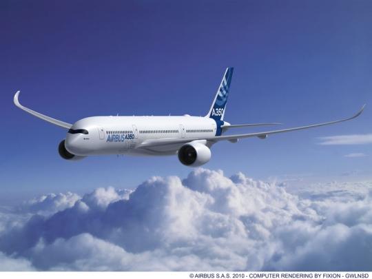 空中客车:大型飞机将越来越受航空企业欢迎