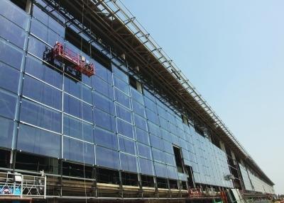 禄口机场二期航站楼玻璃幕墙将于5月完工