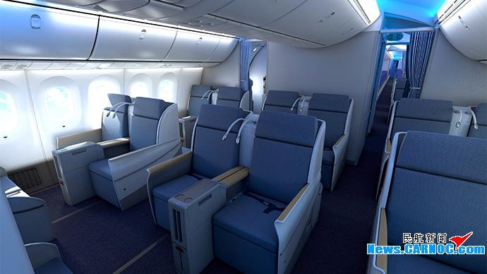 南航波音787不仅拥有俊美的外表图片