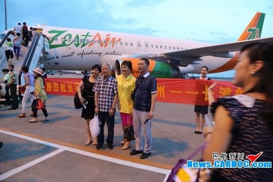 图2:温州开通直飞菲律宾长滩岛航线