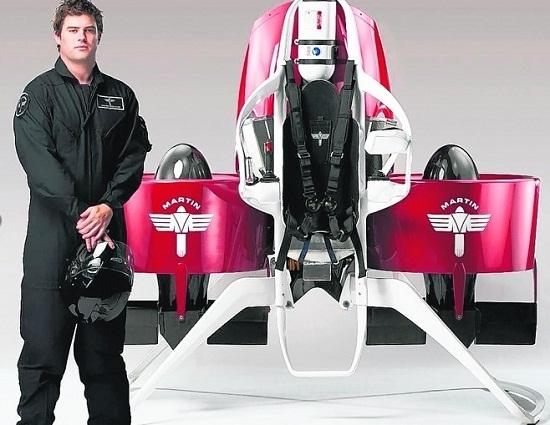 新西兰男子花30年造个人飞行器 公司将量产