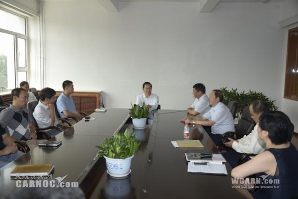 东航集团总经理刘绍勇赴太原航摄公司视察调研