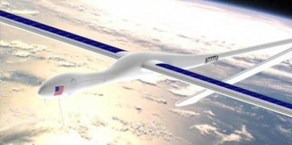 能够飞5年太阳能无人飞机Solara即将问世