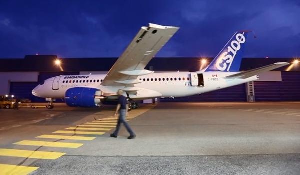 庞巴迪:C系列飞机将于16日进行首飞