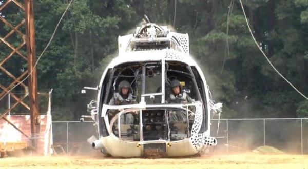提高飞行员存活几率 NASA测试直升机新设备