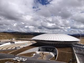 稻城亚丁机场 外星 飞碟 华丽归来图片