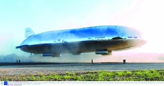美航空公司计划重建飞艇 速度比飞机船舶快