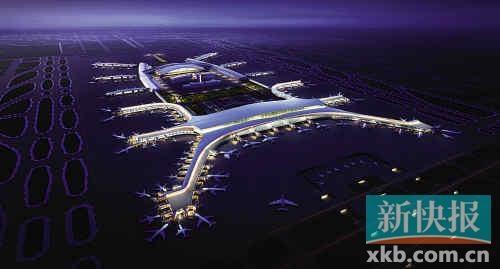 图片 三市城轨将直达广州白云机场二号航站楼
