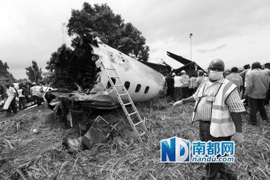 尼日利亚客机坠毁 参加葬礼成 死亡之旅