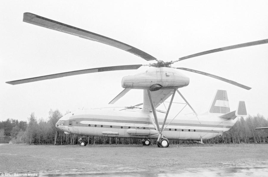 直升飞机:俄国建造的mii