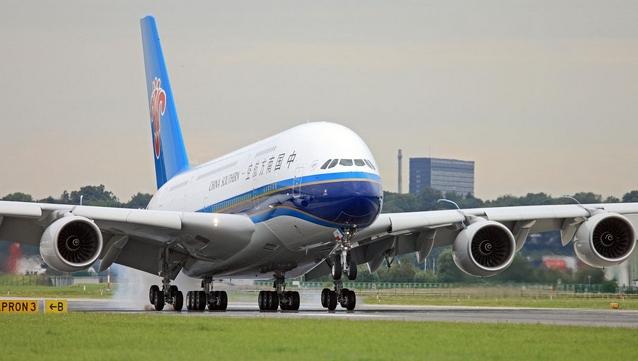 广州 悉尼/图:中国南方航空公司将取消A380客机执飞每日一班的悉尼/广州...