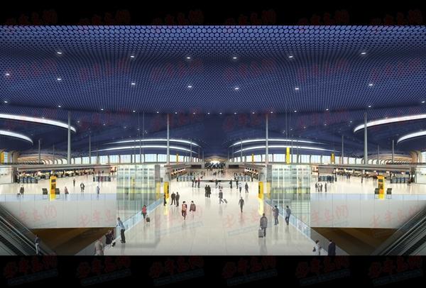 """青岛新机场航站楼方案揭晓 """"海星""""造型胜出"""