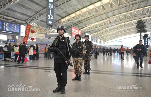 西安咸阳机场:安保再升级 确保旅客平安出行