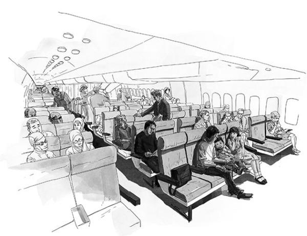 漫画 mh370/图:漫画图片...