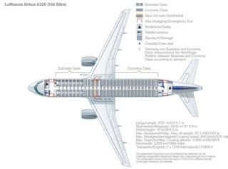 空客a319,320,321飞机的最大座位布局分别是138,168,200.图片