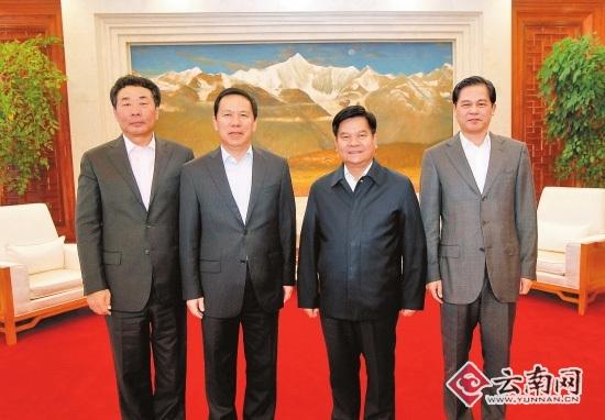 东航集团总经理刘绍勇一行拜会云南省政府