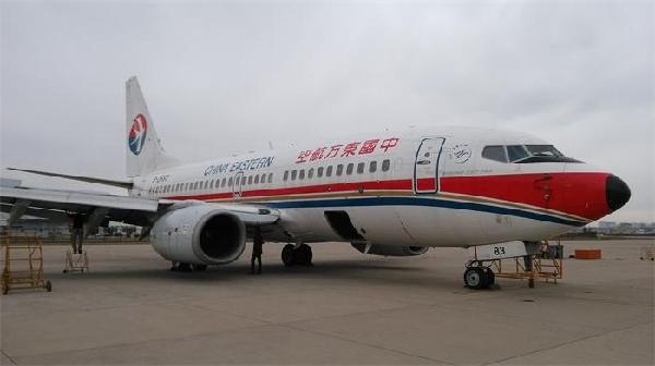 图片 东航山西维修部完成B-2683飞机退租工作