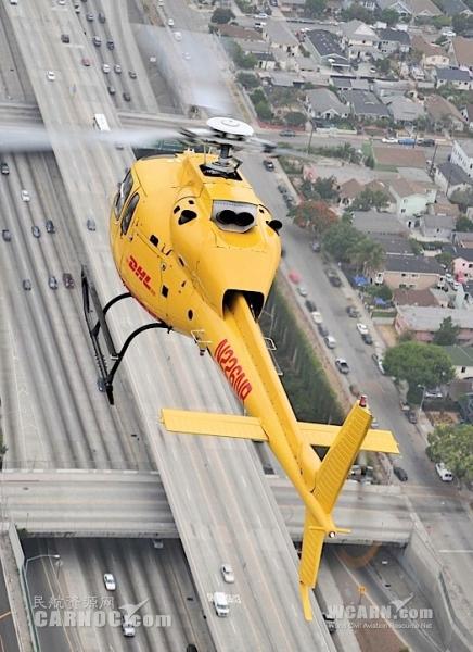 无惧交通拥堵 DHL推出伦敦首个直升机快递服务