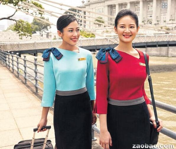 换下11年的单色制服 胜安空姐全新制服亮相