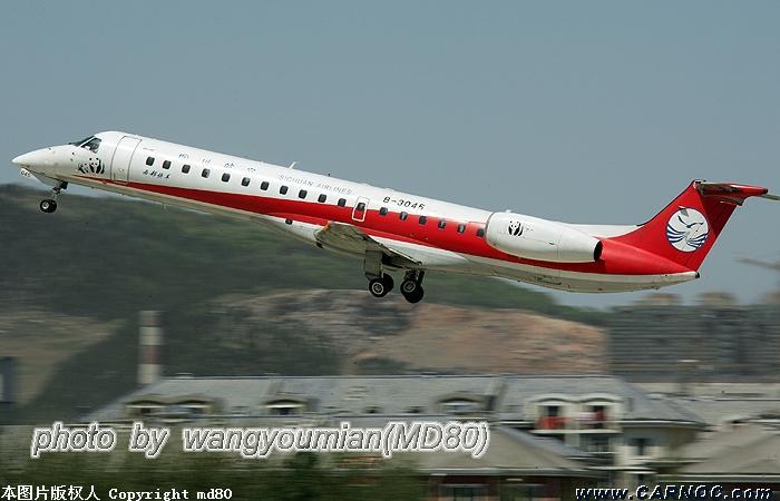 Re:[原创]西部快车 EMBRAER ERJ-145 B-3045