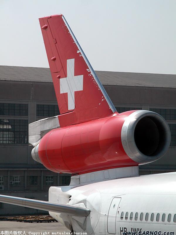 [原创]ex-Schweiz MD11 MCDONNELL DOUGLAS MD-11 HB-IWK