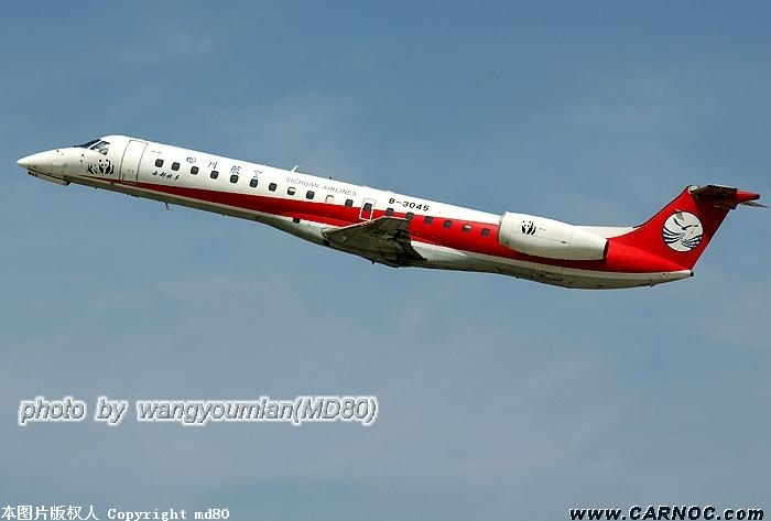 Re:[原创]晴空下的ERJ EMBRAER ERJ-145 B-3045