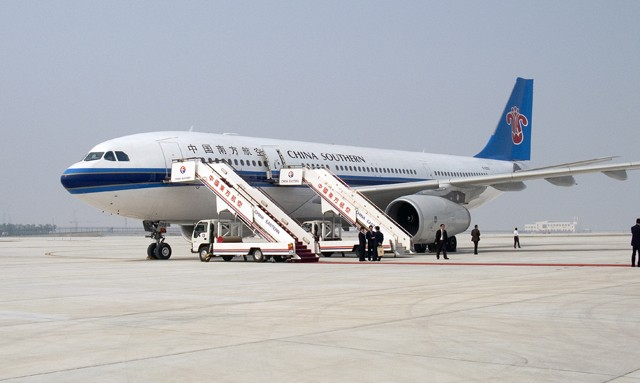 Re:[原创]与南方航空A330-200的第一次近距离接触 AIRBUS A330-200 B-6056